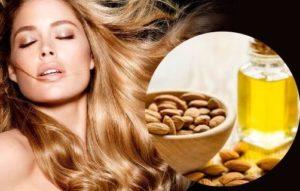 Cómo usar el aceite de almendras para el cabello