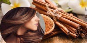como se puede utilizar la canela en el pelo