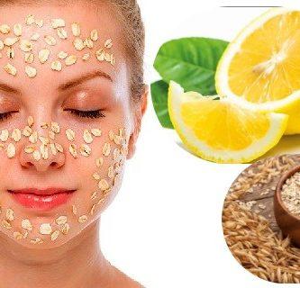 beneficios mascarillla de limon y avena