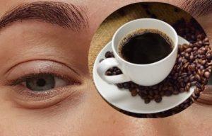 mascarilla de cafe para quitar ojeras