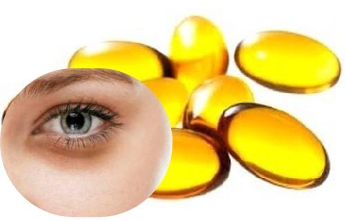 capsulas de vitamina e para quitar ojeras