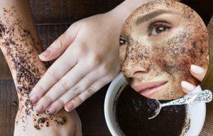 Exfoliación con café